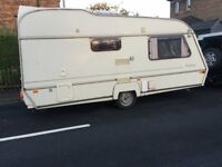 ABI TRANSTAR CARAVAN + AWNING FOR SALE £500