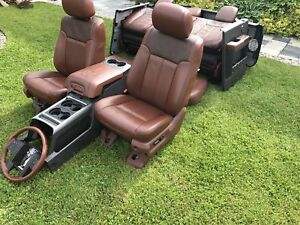 2014 Ford F250 F350 Superduty King Ranch Leather Interior
