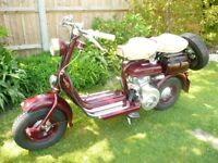 CLASSIC SCOOTER LAMBRETTA D MODEL 150cc 1956 excellent condition restored not used since