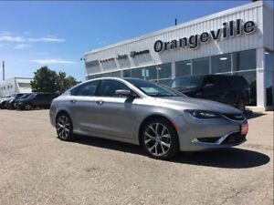 2016 Chrysler 200 C, FWD, HEATED LEATHER, ROOF,