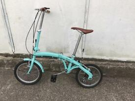 Folding bike very lite frame