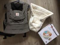 Ergobaby Original 3 way carrier and infant insert