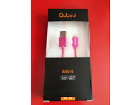 Quboo Apple lighting USB cable 1m