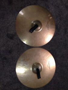 "Pair of 19"" Zildjian Crash Cymbals"