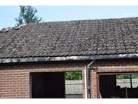 Reclaimed Ludlow majors roof tiles.
