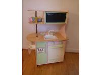 Kids Wooden Kitchen £40