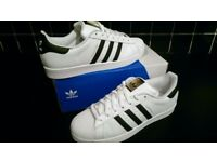 Mens adidas original superstar trainers
