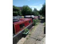 An affordable Narrowboat with Residential mooring and own garden in Southall, West London.