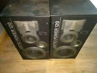 120 Watt speaker cabs - JAMO POWER