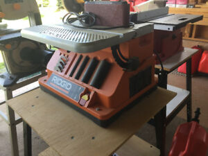 Rigid Oscillating Edge Belt/ Spindle Sander