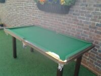 6x3 Snooker and Pool Table