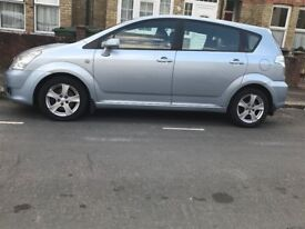 Privately owned 7-seater car in good working condition for sale.
