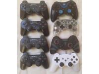 SONY PLAYSTATION PS3 CONTROLLER REMOTE PADS WIRELESS DUAL SHOCK JOYSTICKS