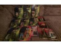 Star wars action figures. Collectables