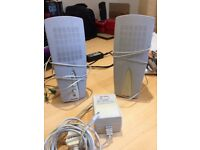 LABTEC SPEAKERS - IDEAL FOR COMPUTERS / GAMES - GOOD WORKING ORDER