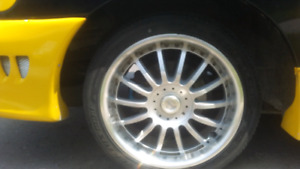 17' aloy aluminium wheels and tires for sale