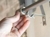 Rod & Tracks Installation for Apartment-Buy 1 Get 80% off on 2nd