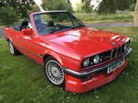 1987 BMW E30 325i CONVERTIBLE MANUAL RARE ALPINA SPEC