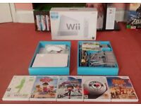 Nintendo Wii Wii Sports Console Bundle White BOXED + 6 Games PAL