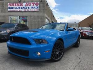 2012 Ford Mustang SHELBY GT500 CONVERTIBLE !! 5.4L SUPERCHARGED!