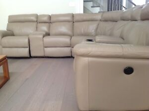 Reclining Leather Sectional Sofa