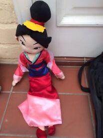 Disney soft toys - Mulan, Maximus (Tangled) etc together or separately