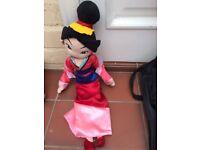 Disney soft toys - Mulan, Maximus (Tangled) etc