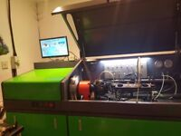 common rail diesel injector and pump test bench