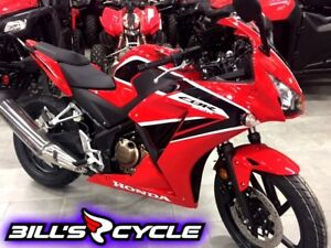 2017 HONDA On Road CBR 300 RH   CBR Red