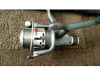 Telescopic 8ft rod and reel new