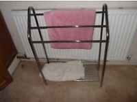 FREE TO COLLECTOR BATHROOM FREE STANDING BATH RACK