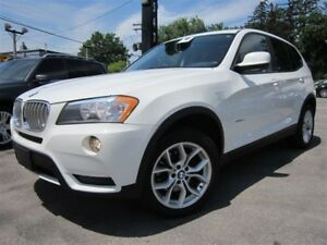 2011 BMW X3 XDRIVE28I~NAVIGATION~100KM~PANORAMA ROOF !!!