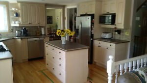 Maple kitchen cabinets and appliances for sale