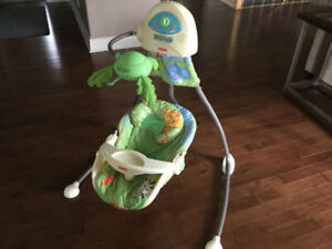 BABY SWING ** NEW FIRE SALE PRICE ** OPEN TO OFFERS !!