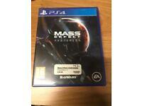 Mass Effect Andromeda PlayStation 4 game