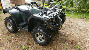 Garage clearance sled and quad must go