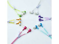 3.5mm In-Ear Headset With Luminous Zipper