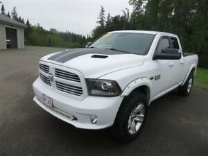 2013 Ram 1500 Sport, NAVIGATION HEAT AND A/C SEAT, SUNROOF!!