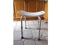 Height Adjustable Aluminium Bath / Shower Stool