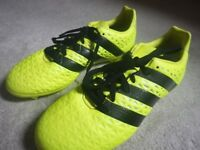 1 Pair of Adidas Ace 16.3 FG Football Boots Junior. UK Size 3. Excellent Condition.