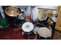 USED DRUM KIT - individual parts available for sale. Offers welcome