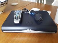 Sky Box with remote and power cord