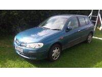 Nissan almera, cheap car