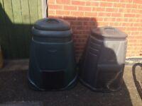 2 x compost bin free