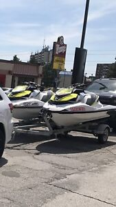 2 2017 SEADOO RXP-X 300 mint condition