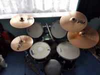 CB Drum Kit and Paiste PST5 Cymbal Pack offers considered
