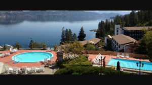 $800 7 days CONDO FOR RENT LAKE OKANAGAN RESORT JUL30-AUG6 2017