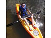 Open top kayak