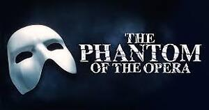 Phantom of the Opera tickets for sale!