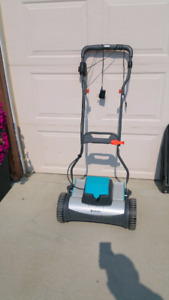 Gardena 12v Battery Electric or  Push Mower - Catcher Optional